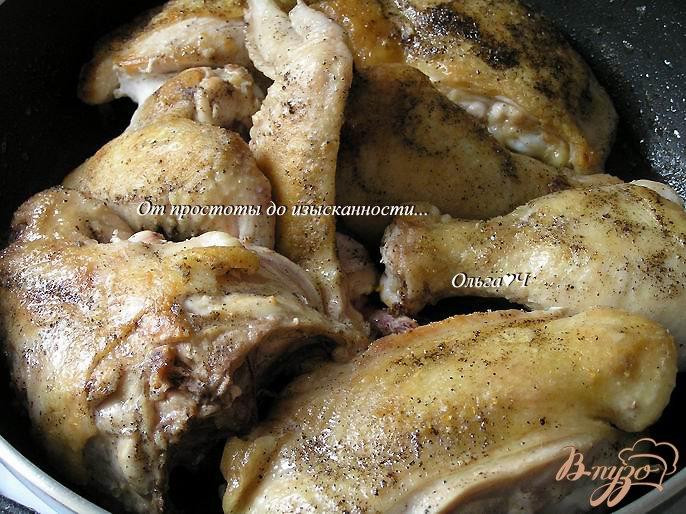Фото приготовление рецепта: Курица в соусе Эстрагон (в мультиварке) шаг №2