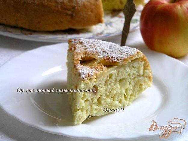 Рецепт Пирог с яблоками (в мультиварке)