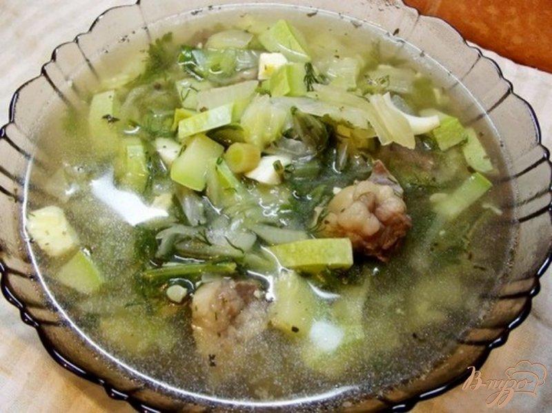 Фото приготовление рецепта: Суп кабачковый шаг №5