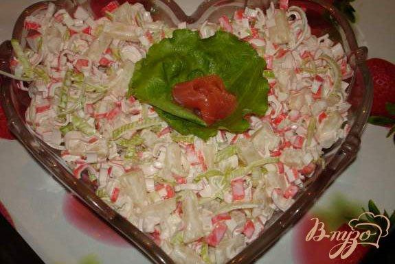 Рецепт Салат от Натальи Варлей с луком-пореем