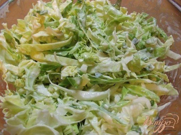Рецепт Капустный салат с горчичным соусом