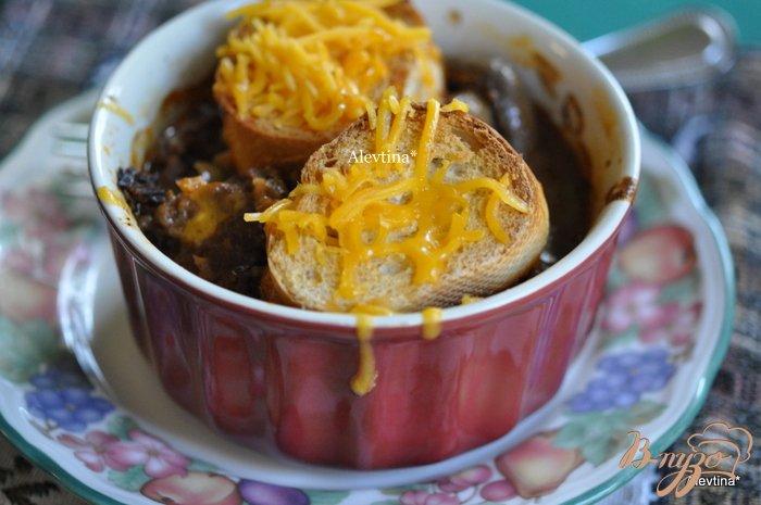 Фото приготовление рецепта: Чили с корочкой шаг №5