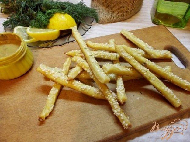 Рецепт Картофельные палочки