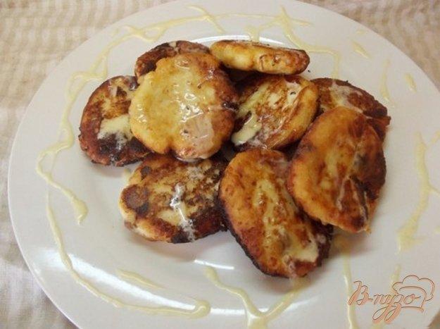 Рецепт Сырники с ванильным соусом