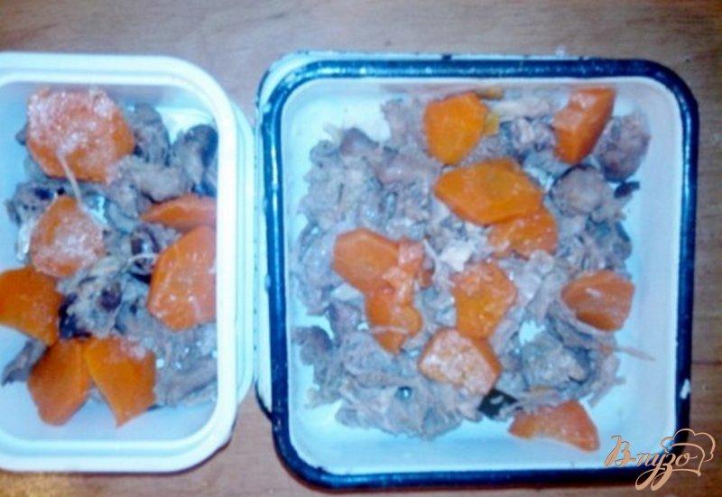 Фото приготовление рецепта: Холодец из птичьих потрахов шаг №3