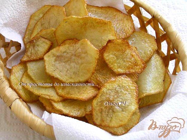 фото рецепта: Картофельные чипсы