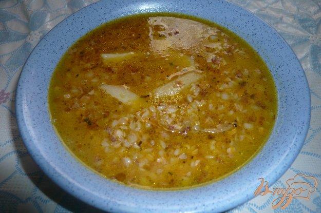 Рецепт Густой гречневый суп на курином бульоне