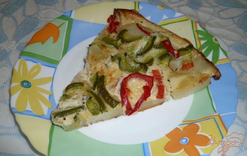 Фото приготовление рецепта: Картофель запеченный с болгарским перцем шаг №12