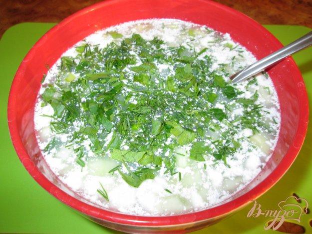 Рецепт Окрошка на воде с майонезом и уксусом