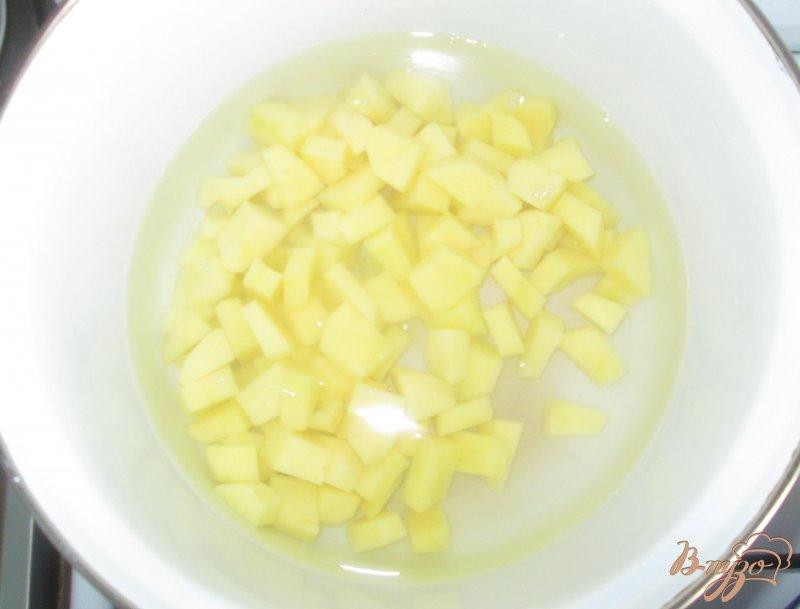 Фото приготовление рецепта: Суп грибной с маслятами и шампиньонами шаг №2