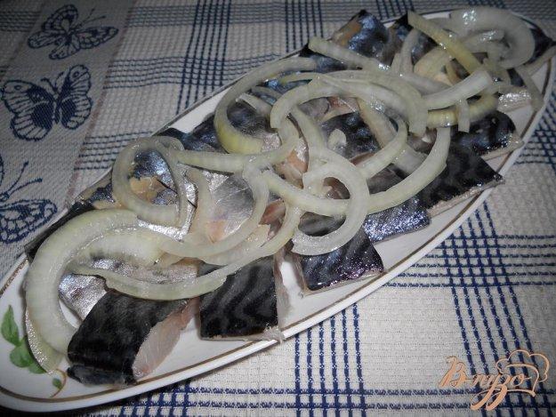 Рецепт Скумбрия маринованная по-домашнему