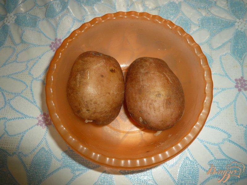 Фото приготовление рецепта: Теплый салат на скорую руку шаг №1