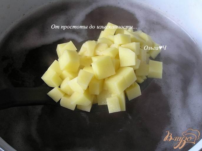 Фото приготовление рецепта: Грибной суп шаг №2