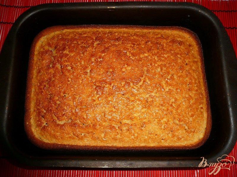 Фото приготовление рецепта: Пирожок манно-овсяный шаг №10
