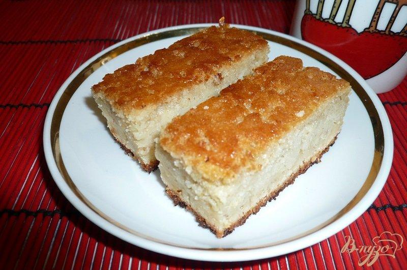 Фото приготовление рецепта: Пирожок манно-овсяный шаг №11