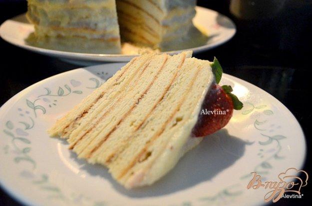 "Рецепт Торт "" Почти Наполеон"" на сковороде"