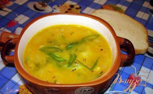 Рецепт Гороховый суп на курице холодного копчения