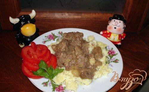 Мясо с кумкватом
