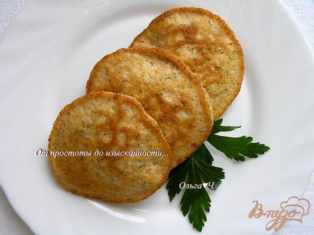 Рецепт Оладьи из икры сазана с укропом и чесноком