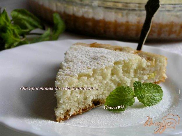 Рецепт Манник с бананом и коричневым сахаром