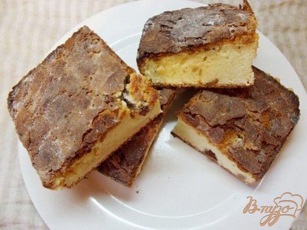 Рецепт Пирог с миндалем и белым шоколадом
