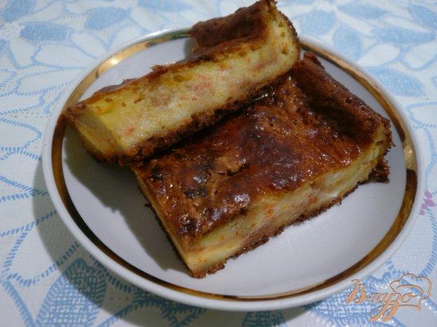 Рецепт Творожная запеканка с ароматом апельсина