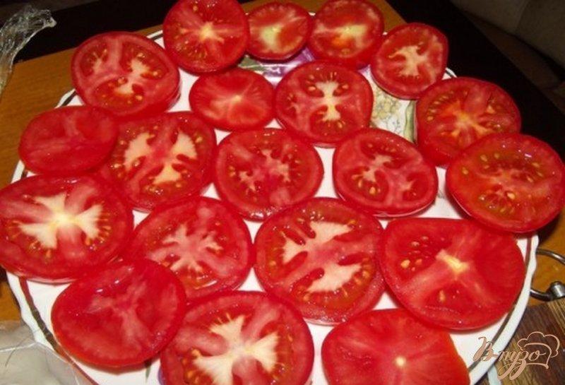 Фото приготовление рецепта: Помидоры оригинальные с домашней заправкой шаг №1