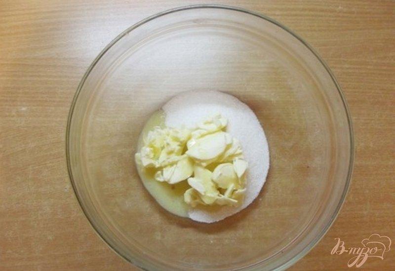 Фото приготовление рецепта: Печенье с имбирем и корицей шаг №3
