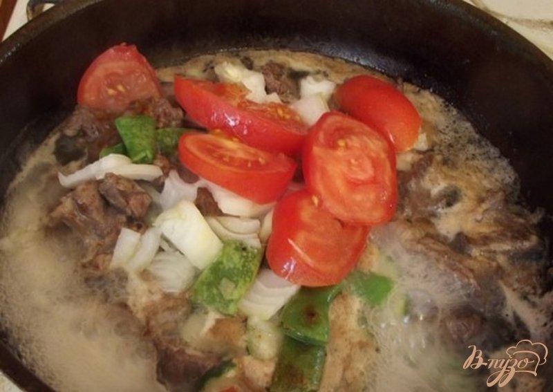 Фото приготовление рецепта: Рагу из говяжьих щек шаг №6