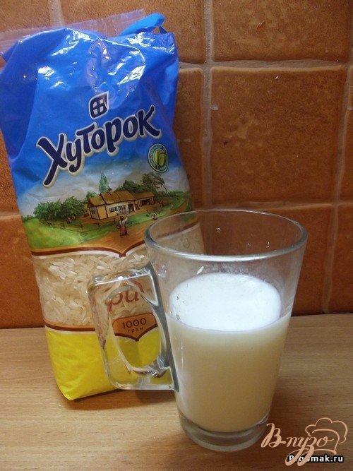 Рисовый суп (каша) на кислом молоке