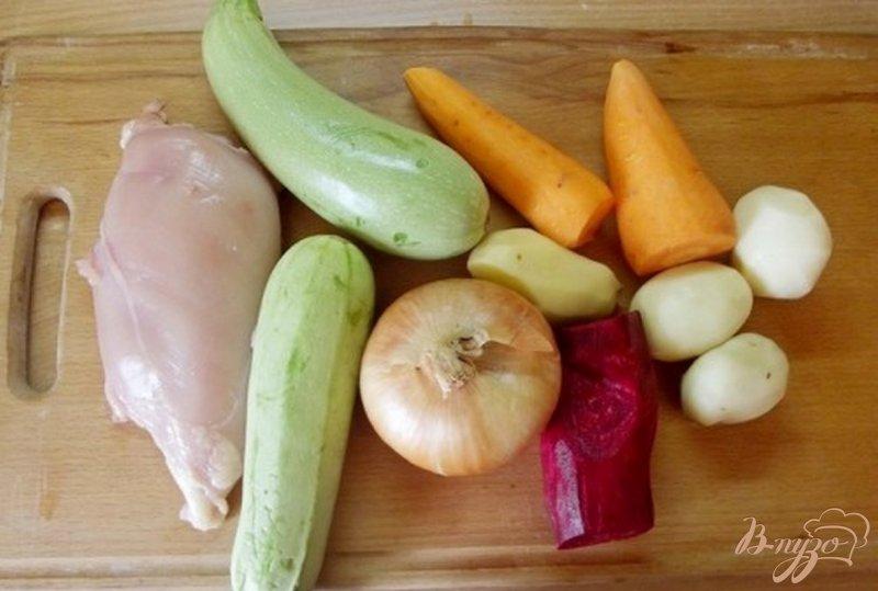 Фото приготовление рецепта: Суп кабачковый шаг №1