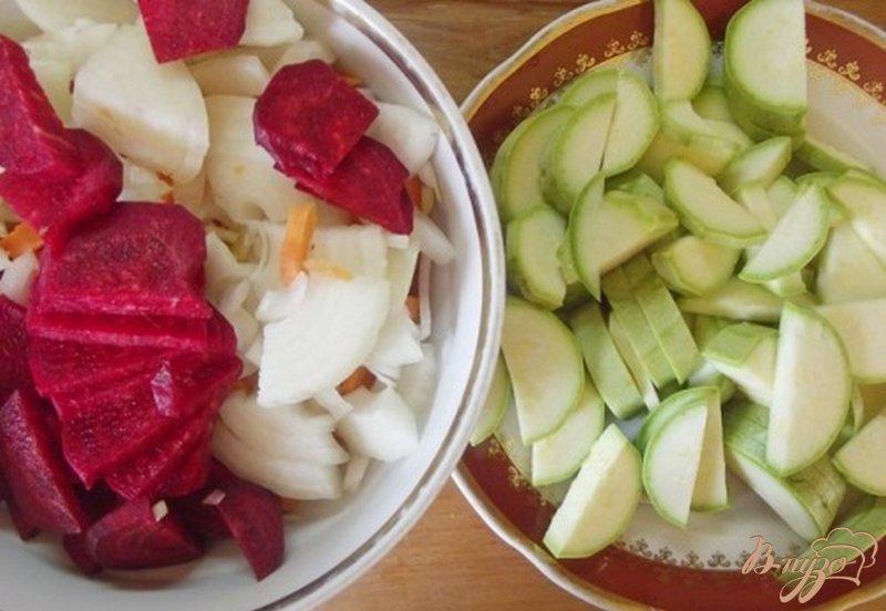 Фото приготовление рецепта: Суп кабачковый шаг №8