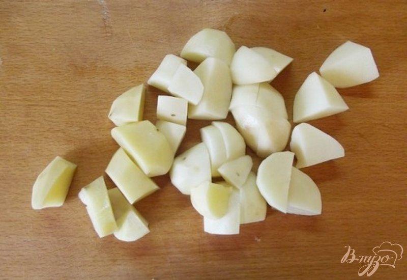 Фото приготовление рецепта: Суп кабачковый шаг №4