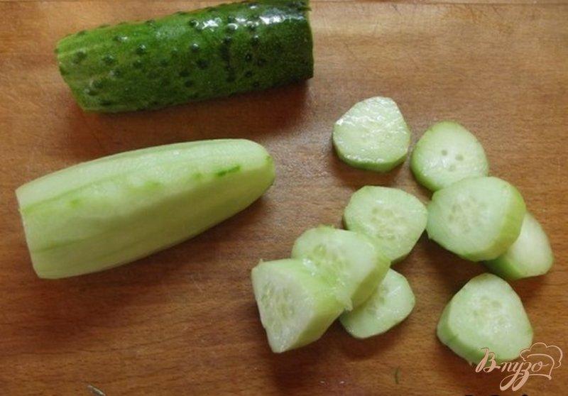 Фото приготовление рецепта: Холодный суп - пюре из сельдерея шаг №3