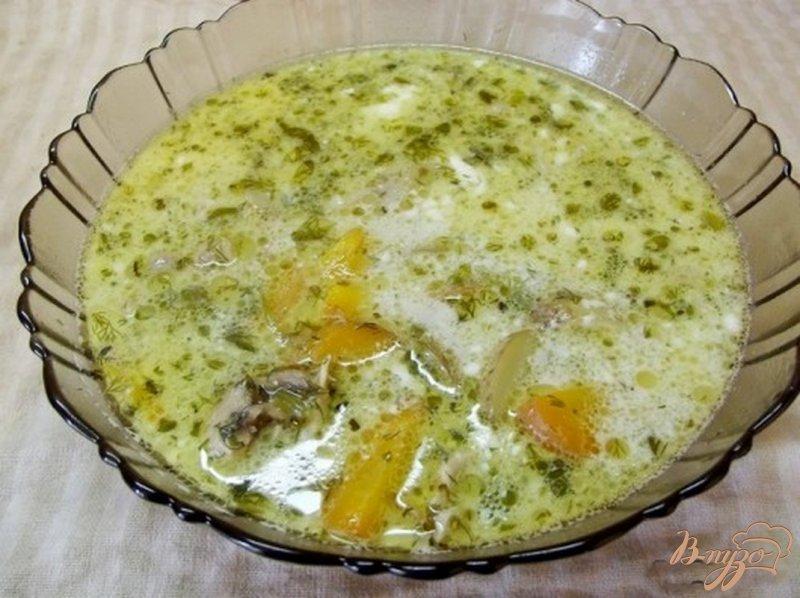 Фото приготовление рецепта: Суп из молодого картофеля шаг №8
