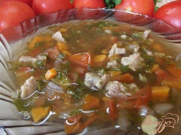 фото рецепта: Суп с томатами