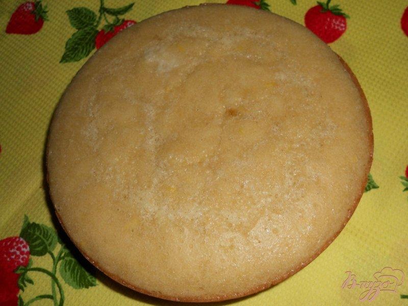 Фото приготовление рецепта: Кекс лимонный с изюмом шаг №15