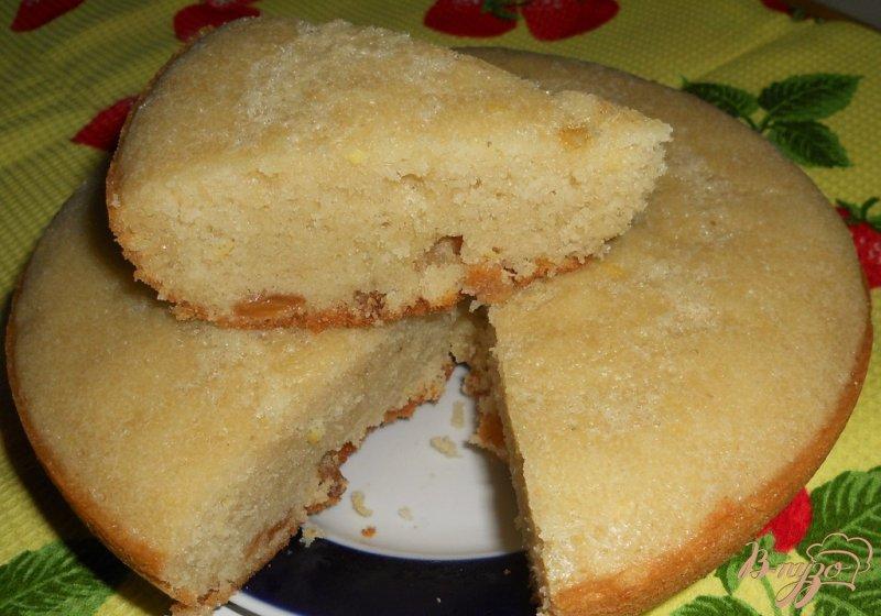 Фото приготовление рецепта: Кекс лимонный с изюмом шаг №17