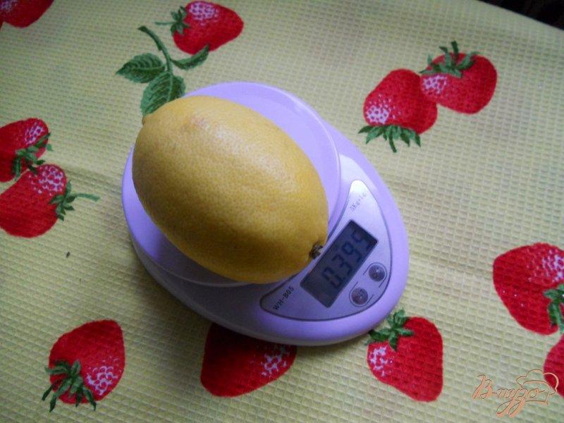 Фото приготовление рецепта: Кекс лимонный с изюмом шаг №6