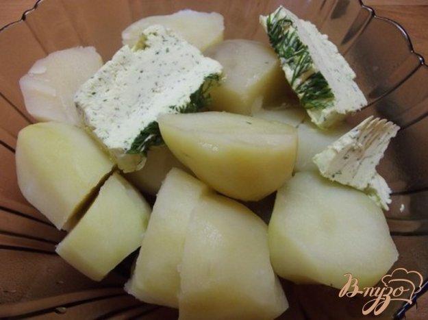 фото рецепта: Чесночное масло с зеленью домашнее