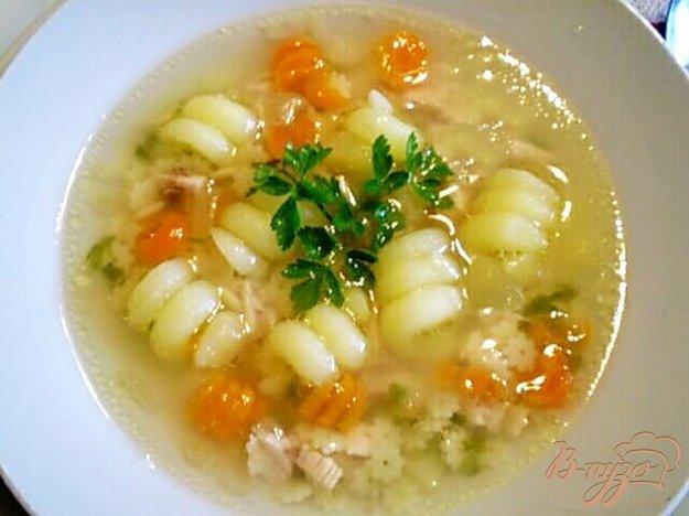 Рецепт Детский суп с цветочками