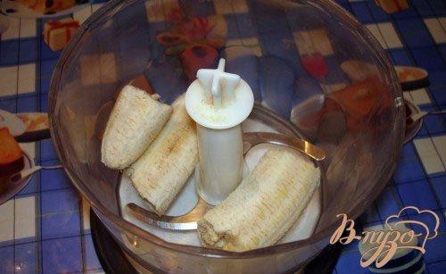 Горячий молочно-шоколадный коктель с бананом