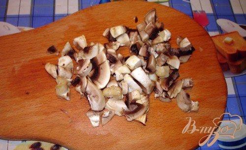 Кабачковые оладушки с грибами