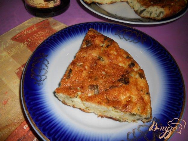 Рецепт Запеканка из творога и сыра с зеленью