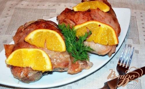 Рецепт Индюшиные стейки с апельсином