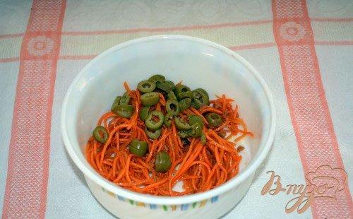 Салат из овощей и грибов без заправки