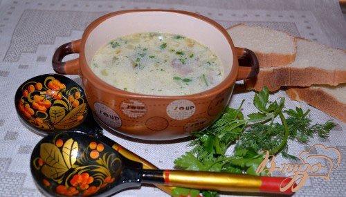 фото рецепта: Нежный огуречный суп