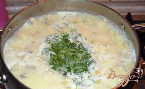 Нежный огуречный суп