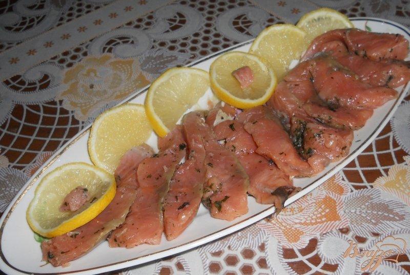 Рыба засолка горбуши пошаговый рецепт с