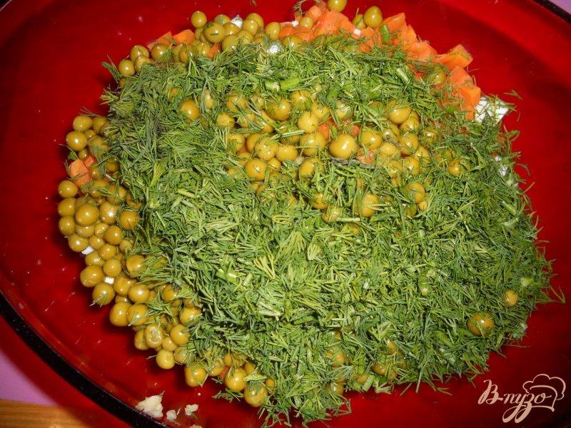 Фото приготовление рецепта: Оливье-лайт шаг №8
